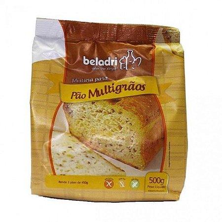 Mistura para Pão Multigrãos Sem Glúten Beladri 500g