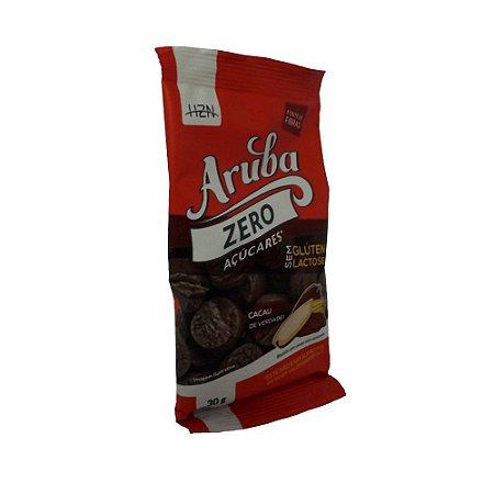 Biscoito Doce Zero Açúcar Sem Glúten de Cacau Aruba 30g