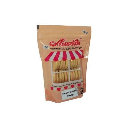 Biscoito Recheado Sem Glúten Morango Marilis 100g