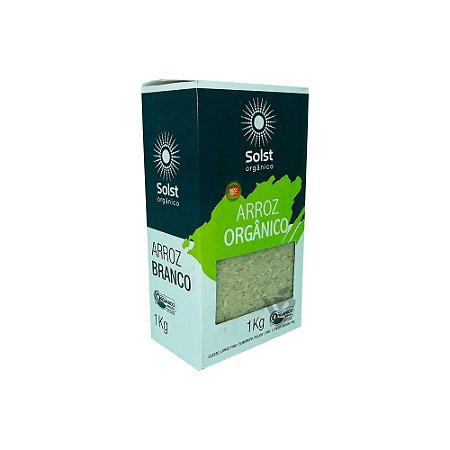 Arroz Orgânico Branco Tipo 1 Solst 1kg