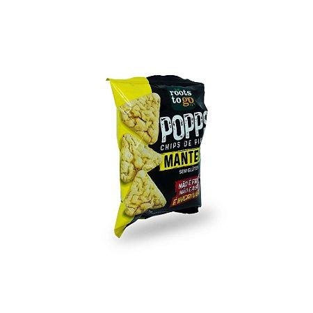 Chips de Pipoca Popps Manteiga Sem Glúten Roots to Go 35g