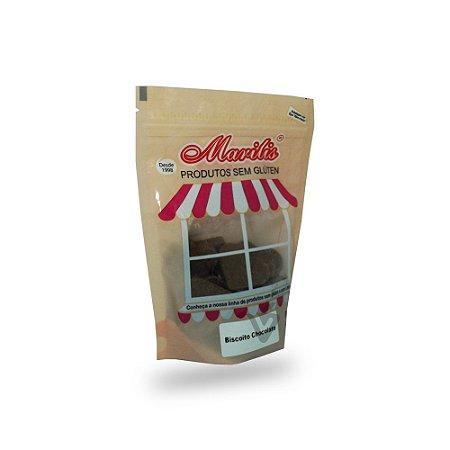 Biscoito Sem Glúten de Chocolate Marilis 150g