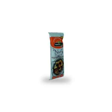 Barra de Cereal Nuts Sem Glúten Original Natural Life 25g