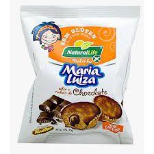 Bolinho Maria Luiza sabor Chocolate Sem Glúten Natural Life 35G