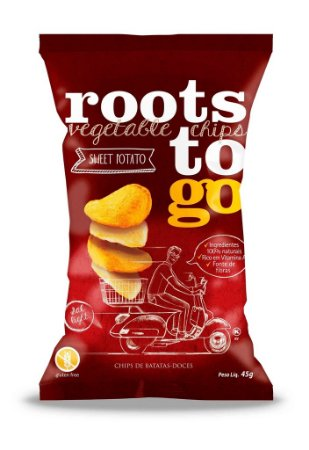 Chips Mix Batata-Doce Sem Glúten Roots to Go 45g