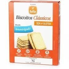 Biscoito Classico Amanteigado Sem Glúten Belfar 86g