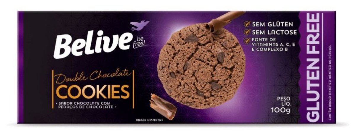 Cookie de Double Chocolate Belive 100g