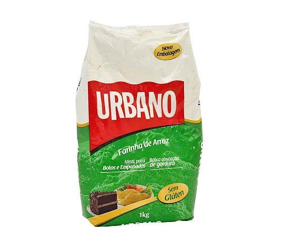 Farinha de Arroz Sem Glúten Urbano 1kg