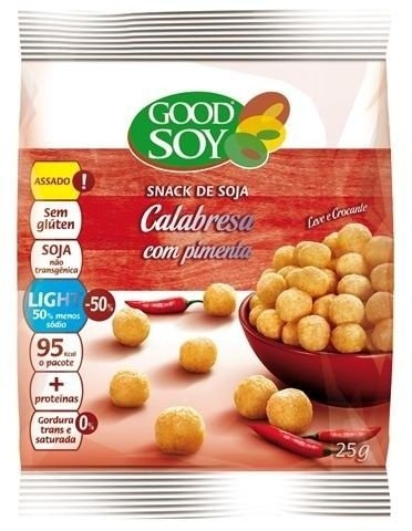 Snack Good Soy de Calabresa c/ Pimenta 25g