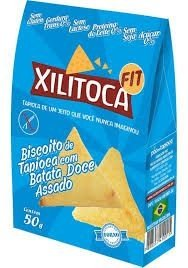 Biscoito de Tapioca c/ Batata Doce Xilitoca 50g