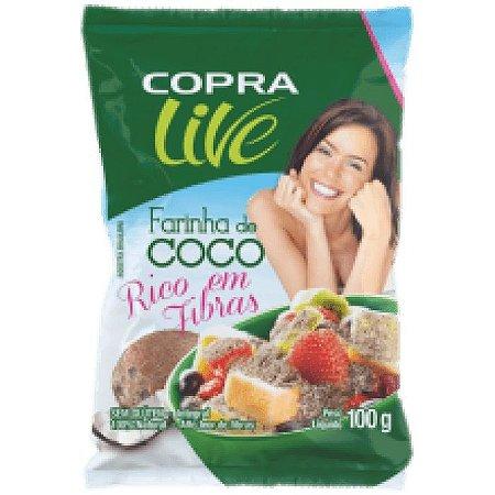 Farinha de Coco Copra 100g (Validade 27/07/2018)