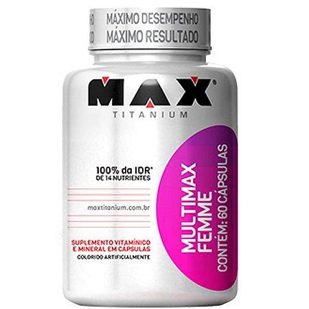 Multimax Femme (60caps) - Max Titanium