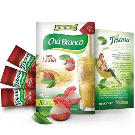 Chá Branco Tisana (40g) - MaxiNutri [VENC 12/2016]