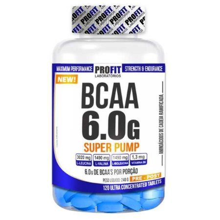 BCAA Super Pump (120tabs) -Profit
