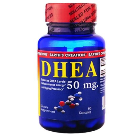 DHEA 50mg (60caps) - Earth's Creation USA
