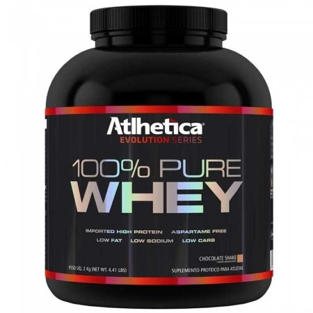 100% Pure Whey (2kg) - Atlhetica Nutrition