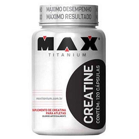 Creatine (120caps) - Max Titanium