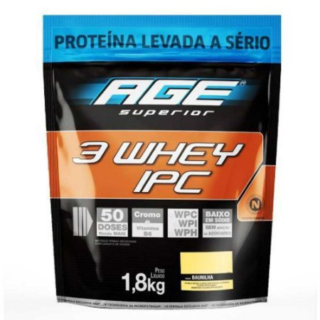 3 Whey IPC (1,8kg) - Nutrilatina AGE
