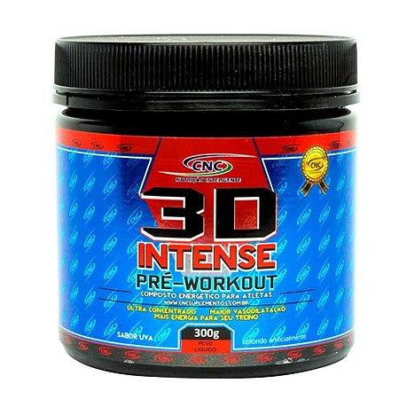 3D Intense Pré-Workout (300g) - CNC