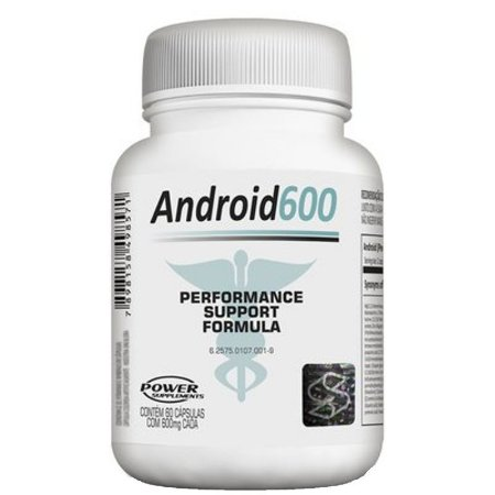 Android600 (60caps) - Power Supplements
