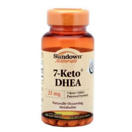 7-Keto DHEA 25mg (60caps) - Sundown Naturals