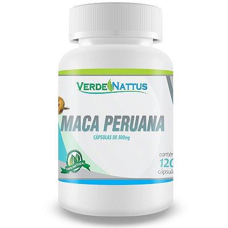 Maca Peruana 120caps - Verde Nattus