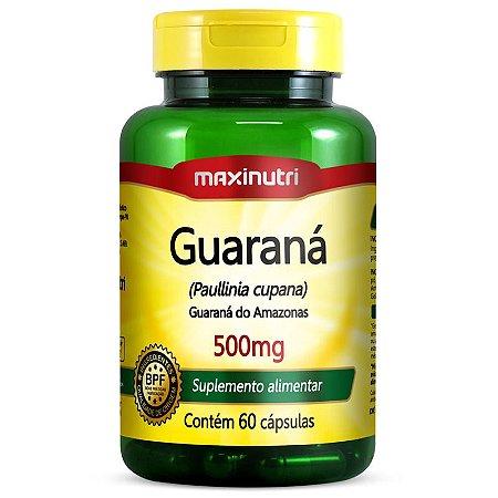 Guaraná (60caps) - Maxinutri
