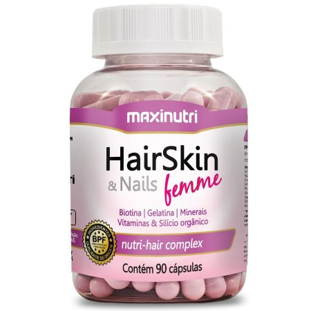HairSkin Femme (90caps) - Maxinutri