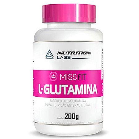 L-Glutamina MissFit (200g) - Nutrition Labs