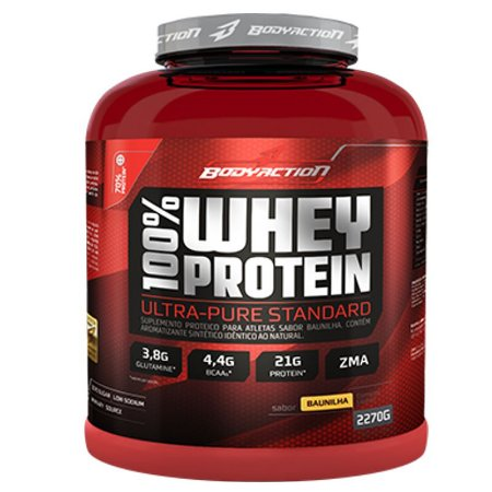 100% Whey Protein (2270g) - Body Action [VENC 11/2016]