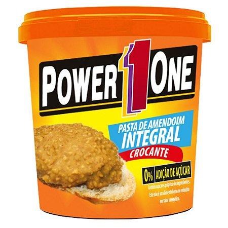 Pasta de Amendoim Crocante (1,005kg) - Power1One