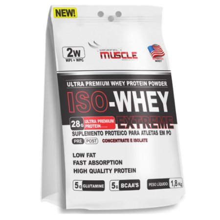 Iso-Whey  Extreme (1,8kg) - Perfect Muscle