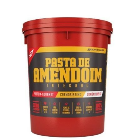 Pasta de Amendoim Integral (1kg) -Body Action