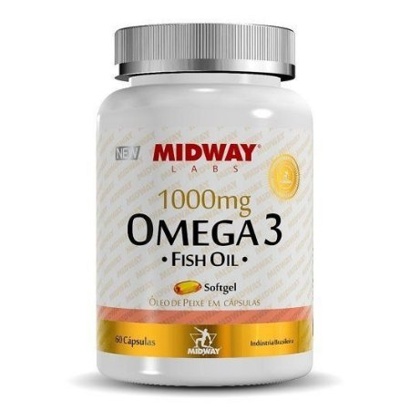 Omega 3 1000mg (120 Caps) - Midway