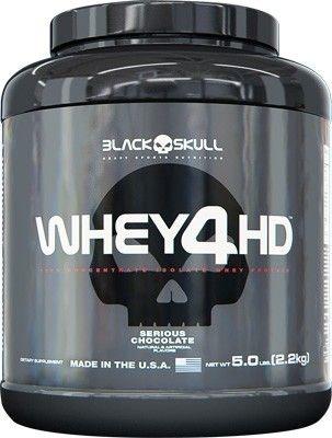 Whey 4HD (2200g) - Black Skull