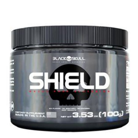Shield (100g) - Black Skull