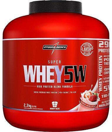 Super Whey 5W (2300g) - IntegralMedica