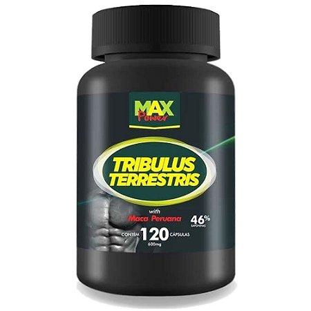 Tribulus Terrestris Com Maca Peruana 120caps - Max Power
