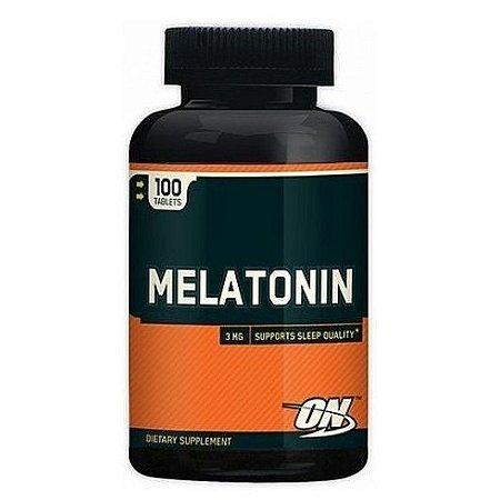 Melatonina 3mg (100caps) - Optimum