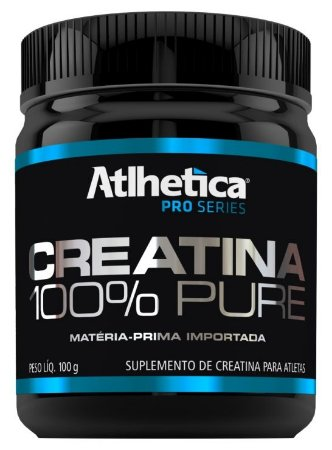 Creatina 100% Pure (100g) - Atlhetica