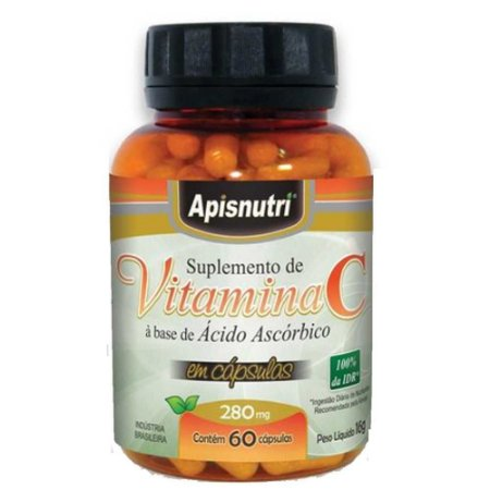 Vitamina C (60caps) - Apisnutri