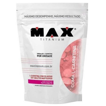 Goma L-Carnitina (20un) - Max Titanium