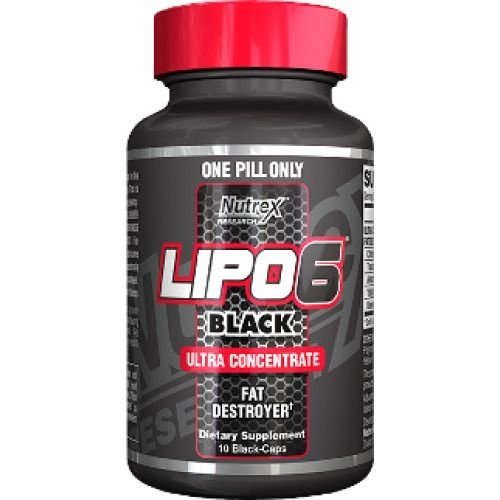 Lipo6 BLack Ultra Concentrate (10caps) - Nutrex