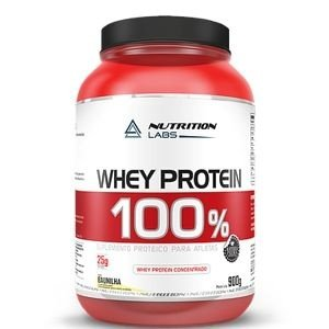 Whey Protein 100% (900g) - Nutrition Labs
