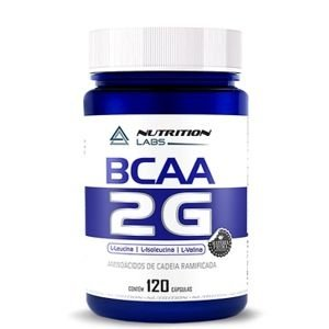 BCAA 2G (120caps) - Nutrition Labs