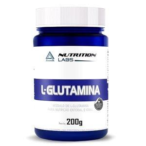 L-Glutamina (200g) - Nutrition Labs