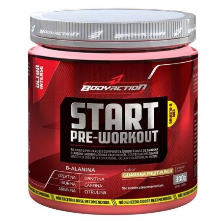 Start Pre-Workout (300g) - Body Action