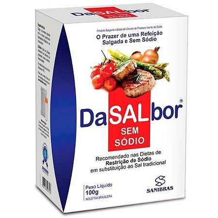 DaSALbor - Sal Sem Sódio ( 100g) - Sanibras