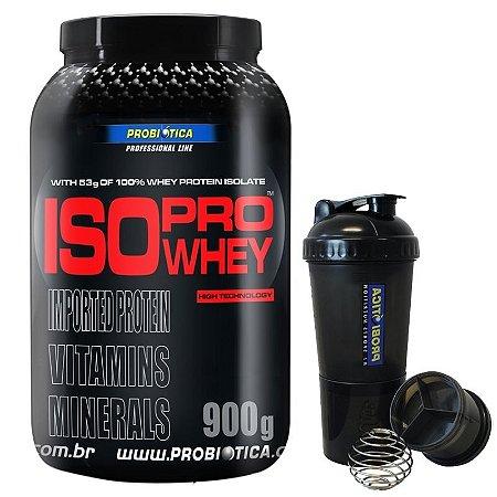 Iso Pro Whey (900g) - Probiotica [GRATIS SHAKERS 4 COMPARTIMENTOS]