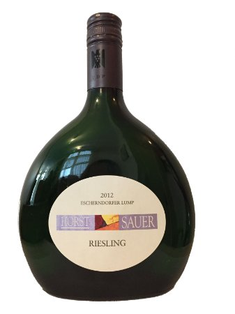 Horst Sauer Riesling 2012